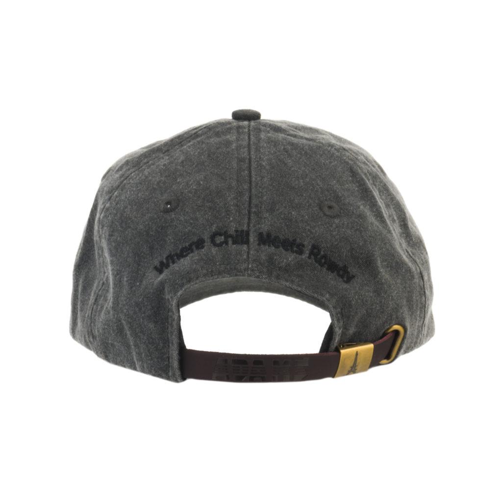 Asphalt Hat Back with Tagline