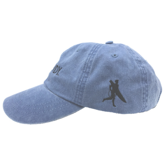 Lake Hat Left Side with Chowdy Surfer