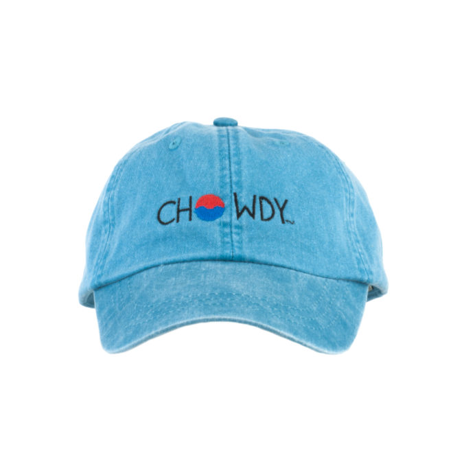 Caribbean Hat Front with Chowdy logo