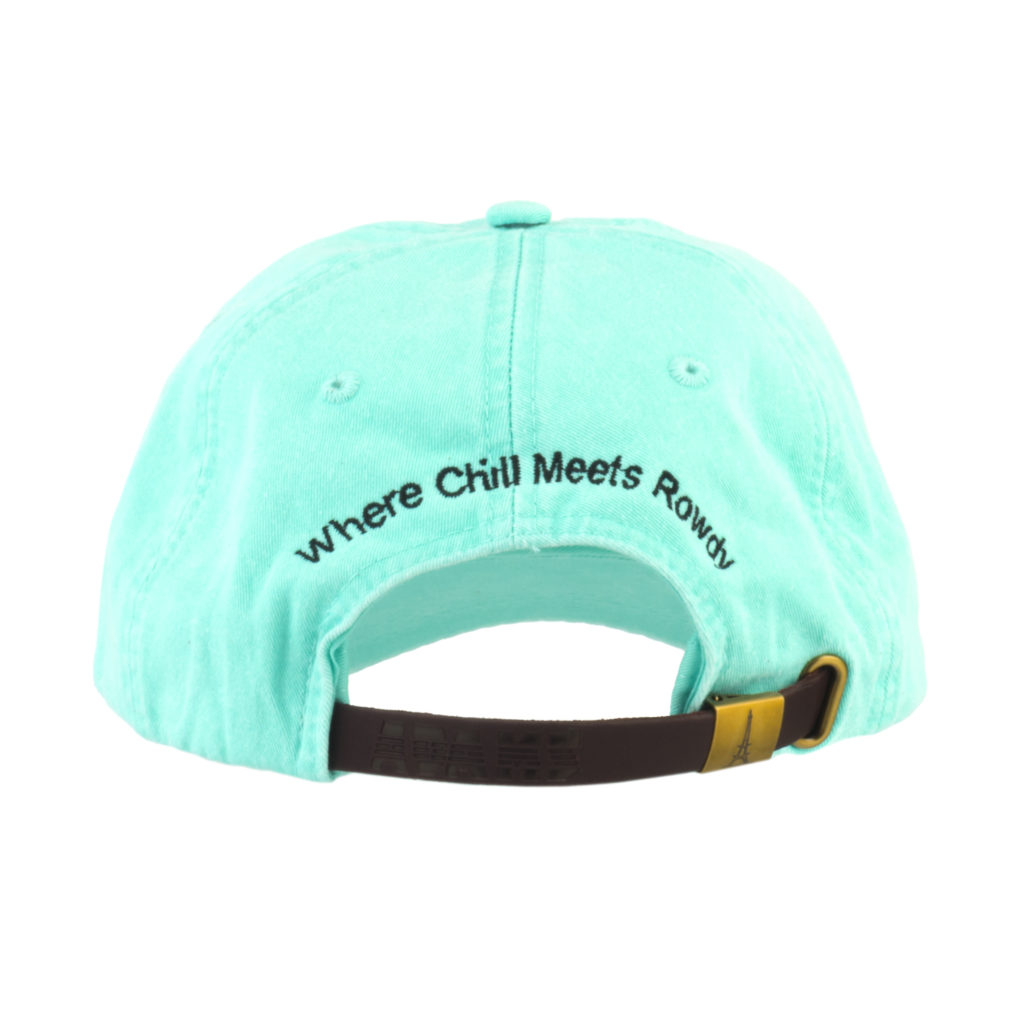 Sea glass Hat Back with Tagline