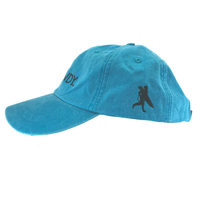 Caribbean Hat Left Side with Chowdy Surfer