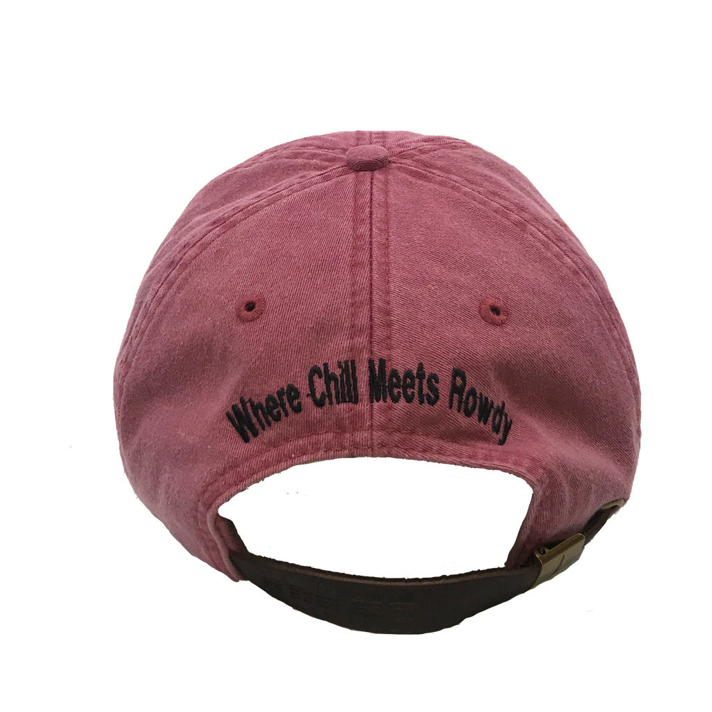 Redwood Hat Back with tagline